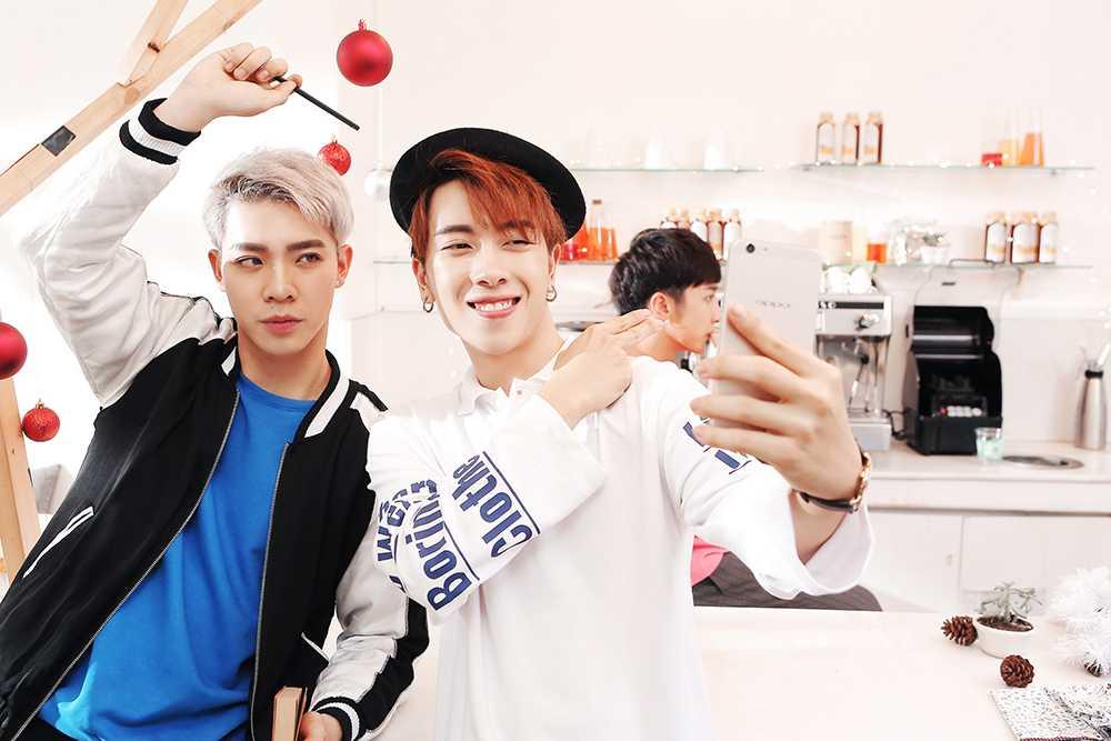 Hot boy 16 tuoi cua 'Sing my song' ra tay giup Suni Ha Linh 'thoat e' hinh anh 5