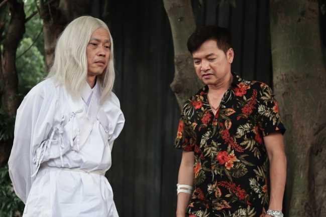Hoai Linh cam 'chau gai' Hoang Oanh yeu nguoi hai doi vo hinh anh 1