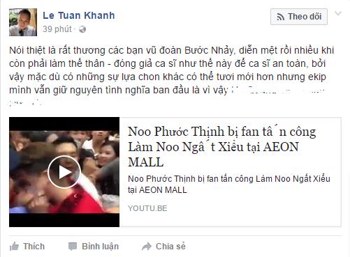 Dong gia Noo Phuoc Thinh, bi fan tan cong den ngat xiu hinh anh 3