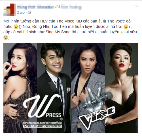 Thu Minh ngoi ghe nong The Voice 2017 cung Dong Nhi - Noo Phuoc Thinh - Toc Tien? hinh anh 1
