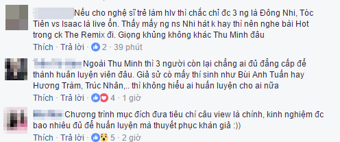 Thu Minh ngoi ghe nong The Voice 2017 cung Dong Nhi - Noo Phuoc Thinh - Toc Tien? hinh anh 4