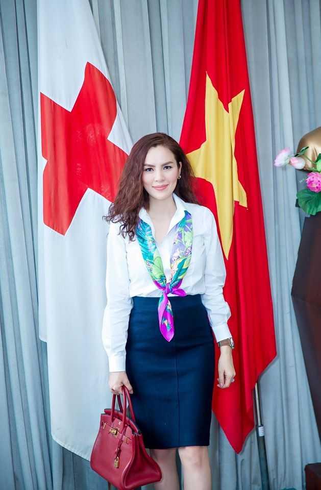A hau Phuong Le mang Tet dam am ve que huong Tra Vinh hinh anh 7