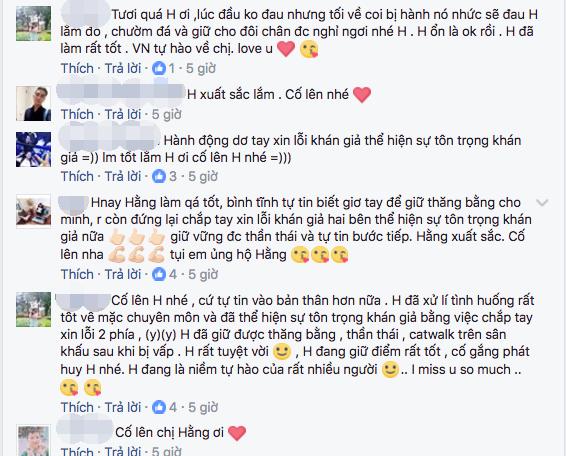 Le Hang duoc khan gia Viet khen ngoi sau su co catwalk tai Miss Universe hinh anh 6