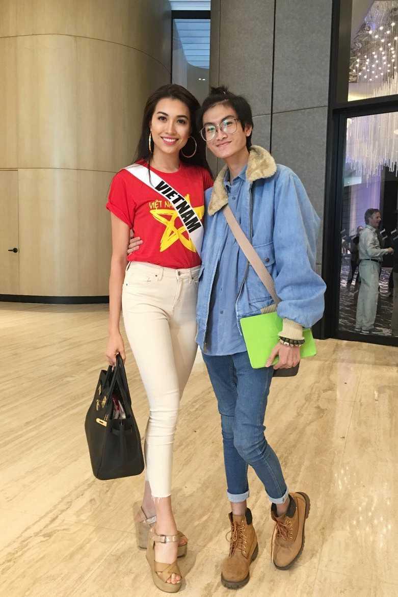 Lo dien trang phuc dan toc chinh thuc cua Le Hang tai 'Miss Universe 2016' hinh anh 5