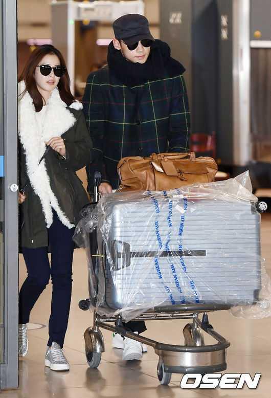 Bi Rain, Kim Tae Hee nám tay nhau vè Hàn Quóc sau tuan trang mạt hinh anh 1