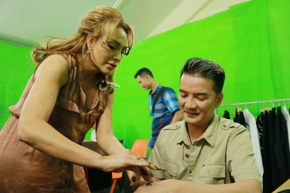 Khong phai My Tam hay Ha Ho, Thanh Ha moi la 'Troi sinh mot cap' voi Mr. Dam hinh anh 3