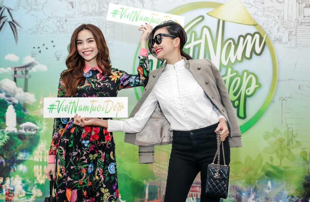 Ho Ngoc Ha va Thanh Hang 'tay trong tay' noi bat giua dan sao hinh anh 2