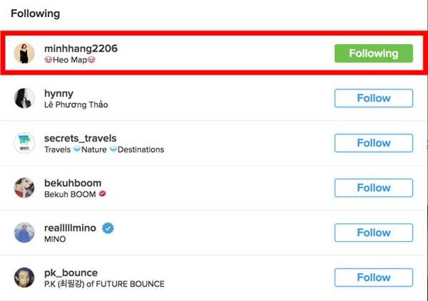 Minh Hang bat ngo duoc sao Big Bang theo doi tren Instagram hinh anh 5