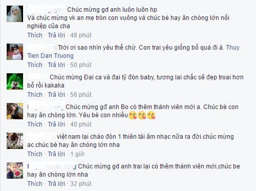 Dan Truong hanh phuc len chuc bo, be 'thien than nho' 3,5kg hinh anh 5