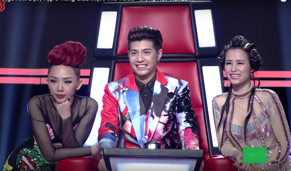 The voice: Dong Nhi, Toc Tien 'lap doi' gianh hot boy voi Noo Phuoc Thinh hinh anh 3