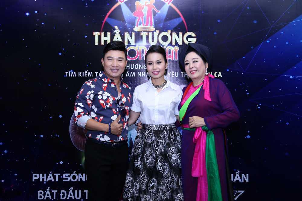Cam Ly, Quang Linh cung NSND Thu Hien di tim 'than dong nhi hat nhac dan ca' hinh anh 4