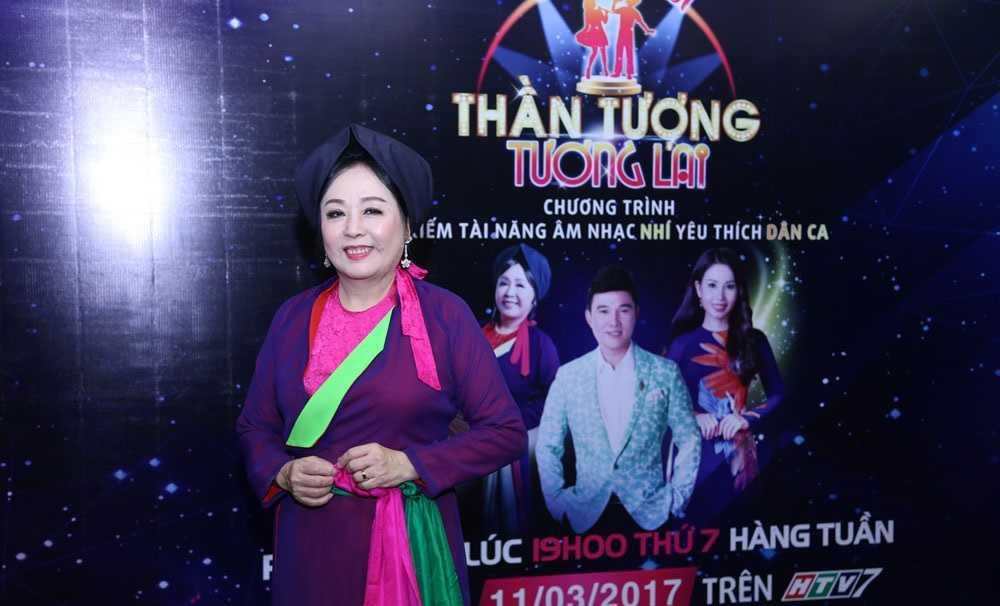 Cam Ly, Quang Linh cung NSND Thu Hien di tim 'than dong nhi hat nhac dan ca' hinh anh 1