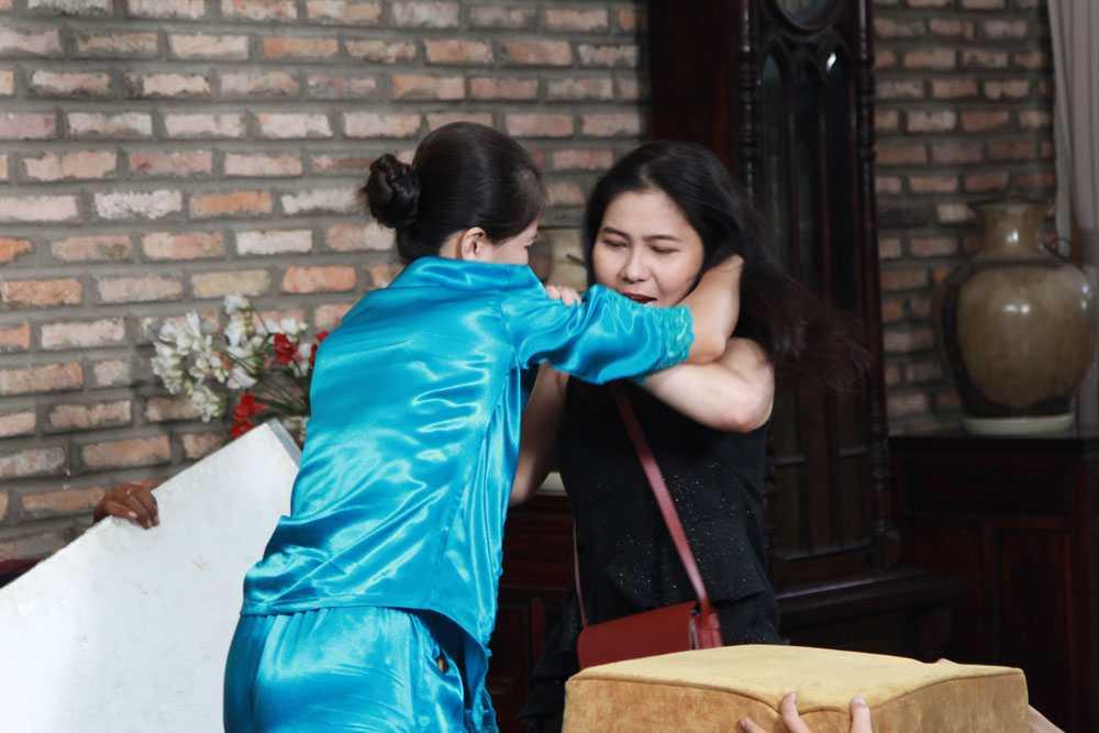 Thu Trang bat khoc nuc no vi Tien Luat qua 'be tha' hinh anh 4