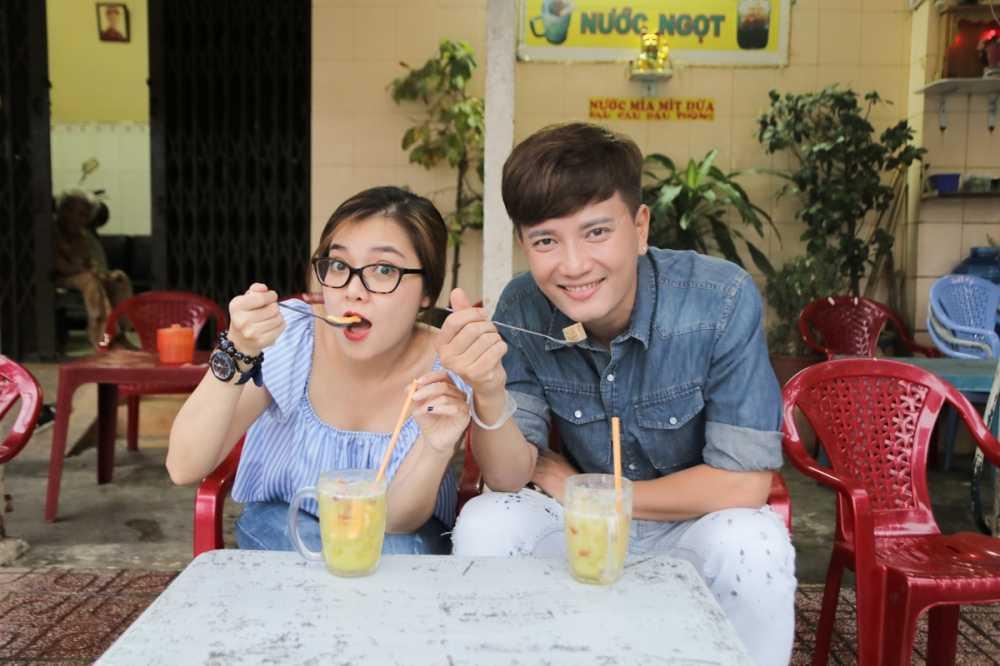 Thanh Ngoc dan Ba Thang ve tham que huong Tien Giang hinh anh 7