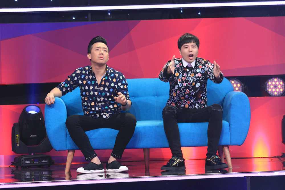 Ngo Kien Huy doi 'tat' Thanh Duy Idol ngay tren san khau hinh anh 4