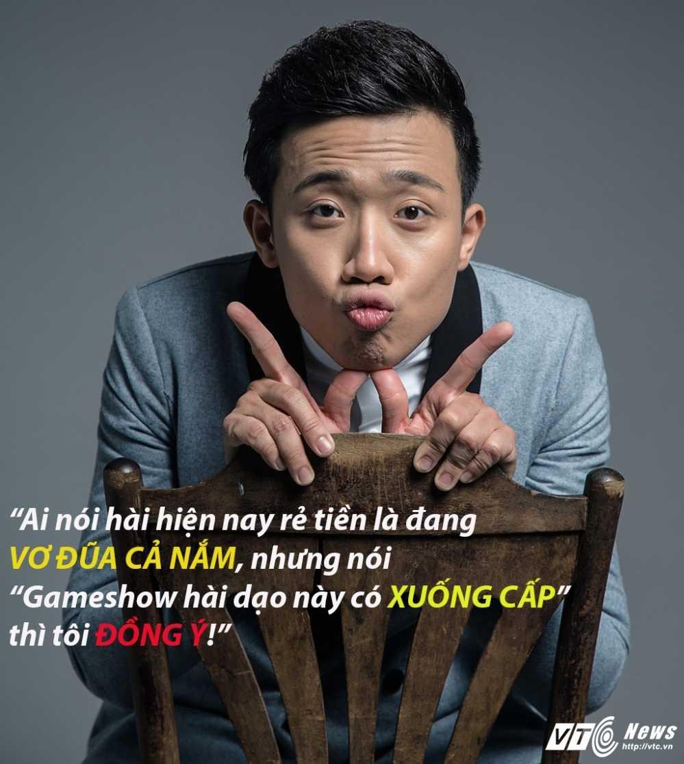 Tran Thanh: 'Ai noi hai hien nay re tien la dang vo dua ca nam' hinh anh 3