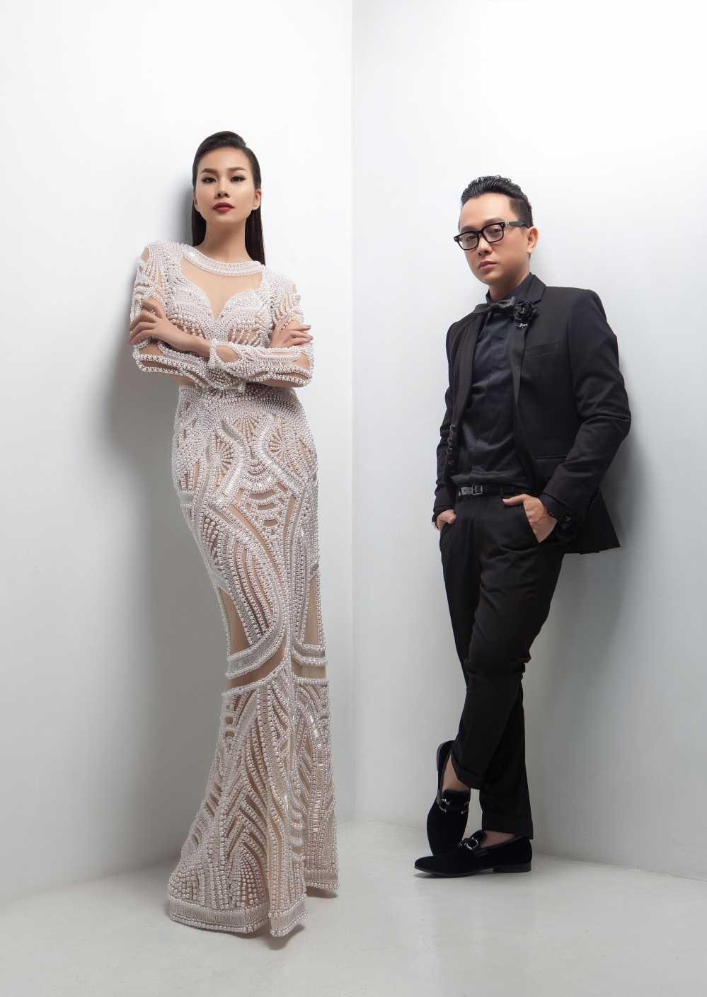 Nguyen Cong Tri moi Thanh Hang lam vedette tai Tokyo fashion week 2017 hinh anh 2