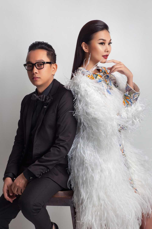 Nguyen Cong Tri moi Thanh Hang lam vedette tai Tokyo fashion week 2017 hinh anh 4