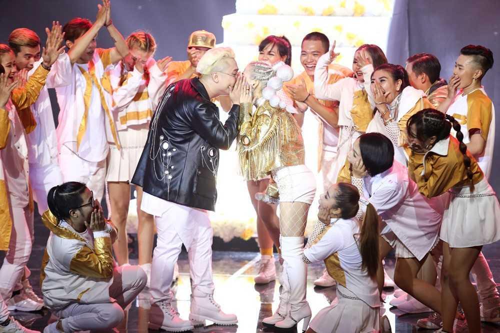 Truc tiep tap 8 The remix 2017: Huong Giang chuyen gioi qua nong bong hinh anh 3
