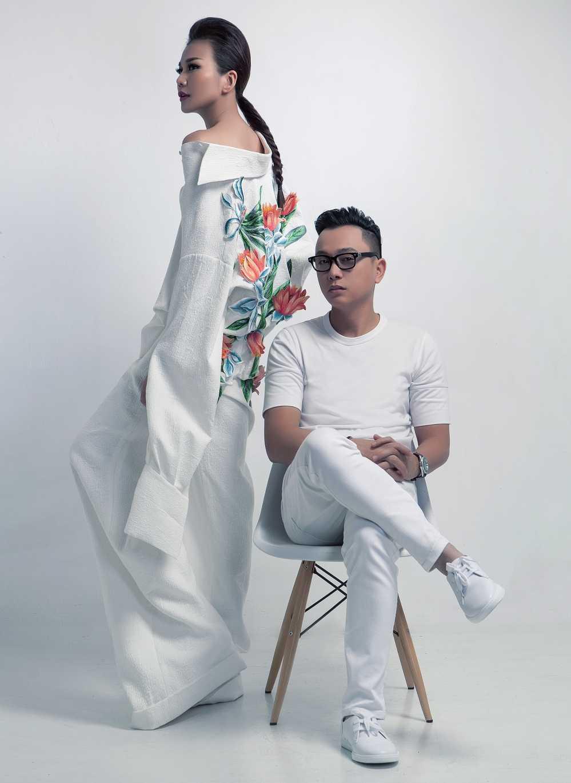 Nguyen Cong Tri mang bo suu tap 'Em hoa' den Tokyo Fashion Week 2017 hinh anh 1