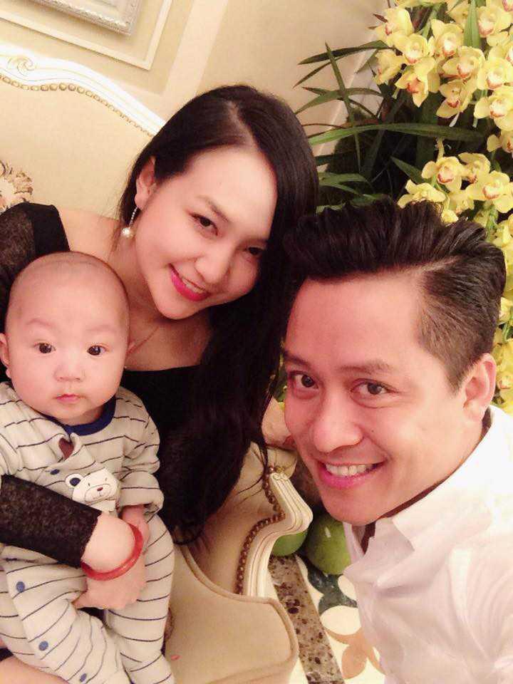 Tuan Hung hanh phuc don con gai chao doi hinh anh 4