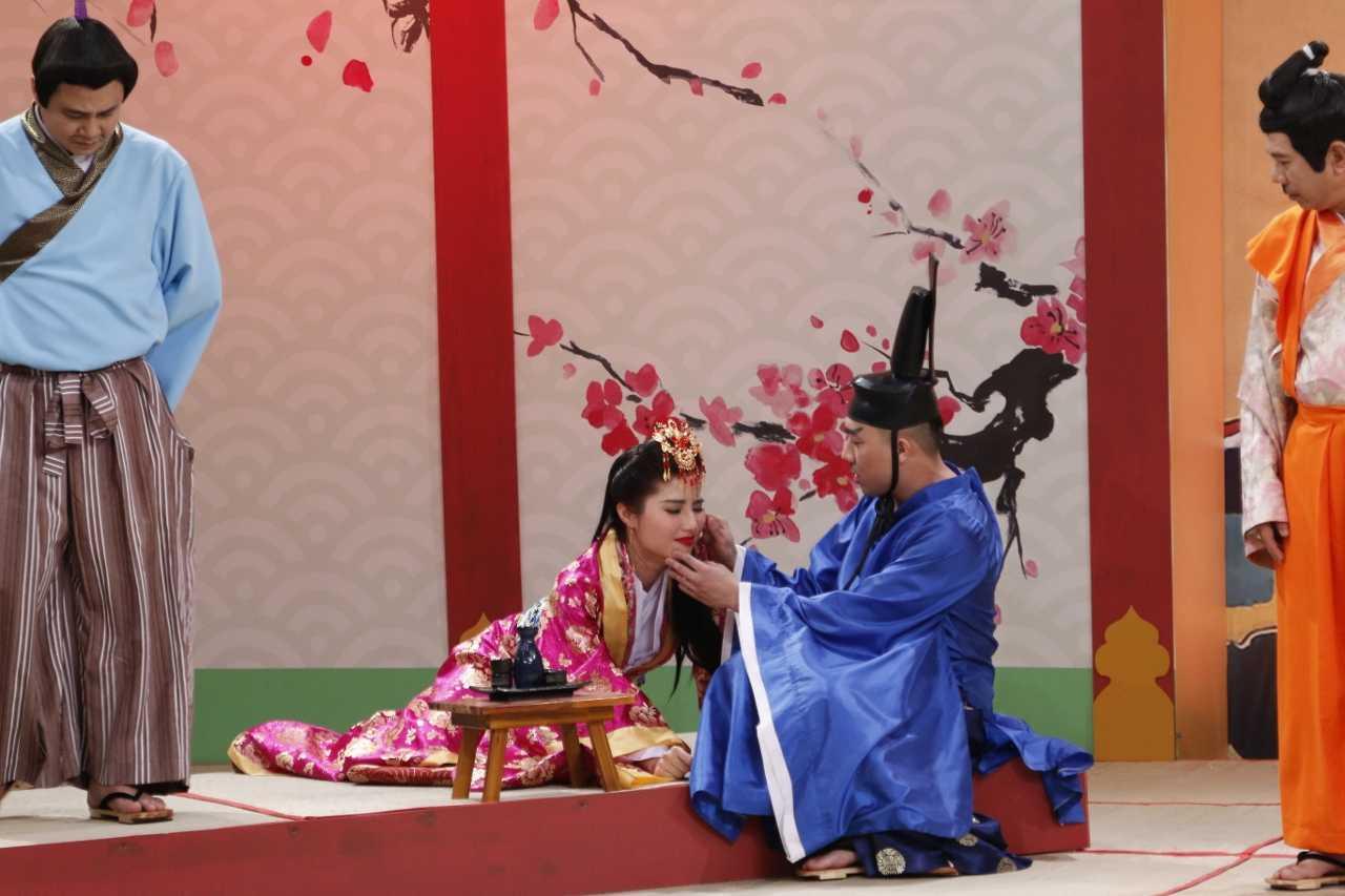 Tran Thanh 've van' Diem My 9X du moi cuoi Hari Won chua lau hinh anh 2
