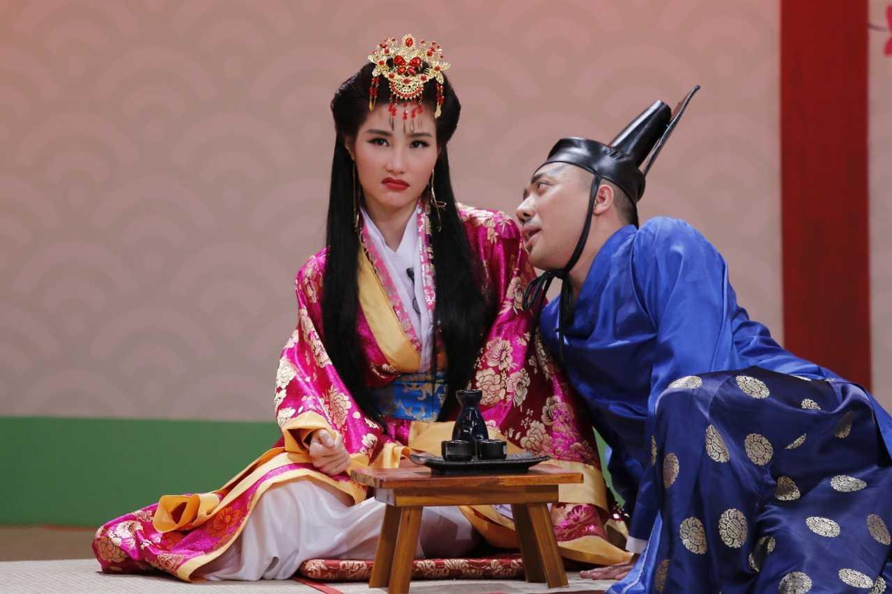 Tran Thanh 've van' Diem My 9X du moi cuoi Hari Won chua lau hinh anh 3