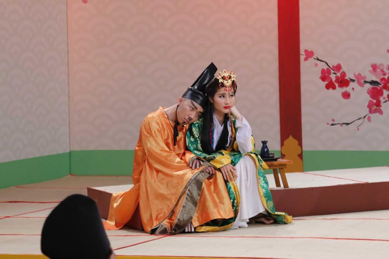 Tran Thanh 've van' Diem My 9X du moi cuoi Hari Won chua lau hinh anh 1
