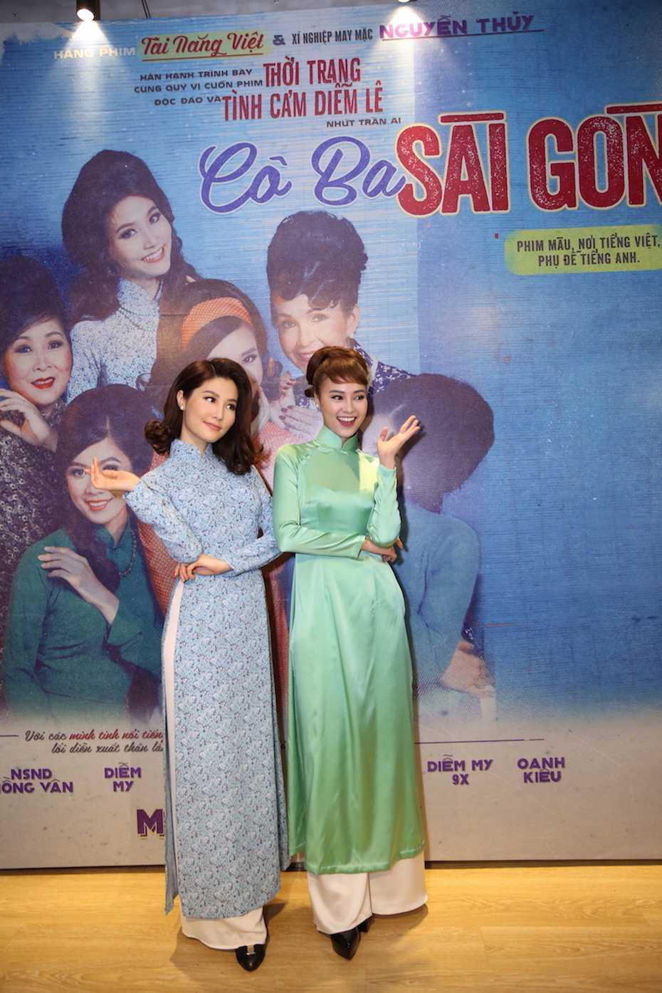 Diem My 9x gay bat ngo cho Ngo Thanh Van khi thu vai 'Co ba Sai Gon' hinh anh 4