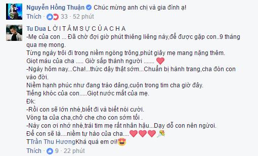 Tuan Hung hanh phuc don con gai chao doi hinh anh 2