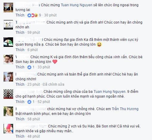 Tuan Hung hanh phuc don con gai chao doi hinh anh 3