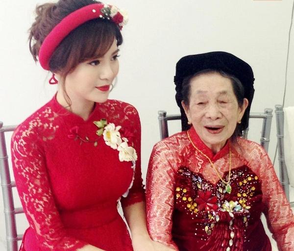 Hot girl Tu Linh MU xinh dep rang ro trong le an hoi hinh anh 9