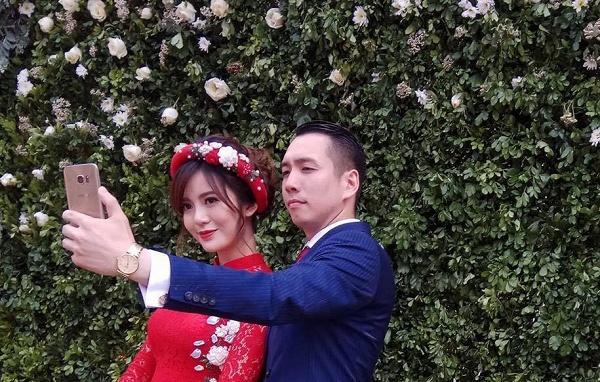 Hot girl Tu Linh MU xinh dep rang ro trong le an hoi hinh anh 14