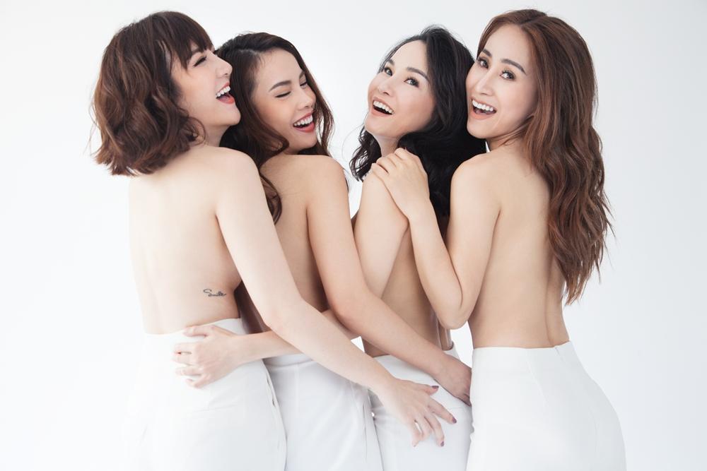 Nhom May Trang bat ngo tai hop sau 10 nam, chup anh ban nude tao bao hinh anh 4