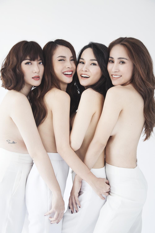 Nhom May Trang bat ngo tai hop sau 10 nam, chup anh ban nude tao bao hinh anh 5