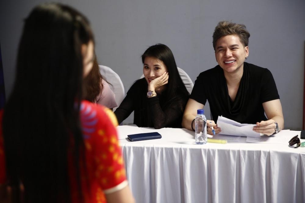 Trang Phap, Hoang Ton dau dau voi thi sinh 'Vietnam Idol Kids 2017' hinh anh 3