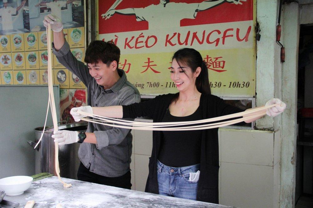 Cap doi Ngo Kien Huy, Khong Tu Quynh tro tai keo mi Kungfu hinh anh 3