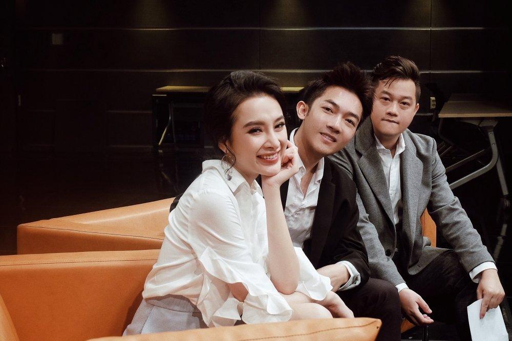 Angela Phuong Trinh xinh dep rang ro khi lam viec tai Han Quoc hinh anh 2