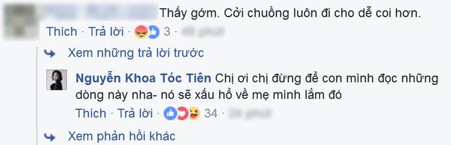 Bi 'giao huan' vi mac do sexy, Toc Tien manh mieng dap tra hinh anh 3
