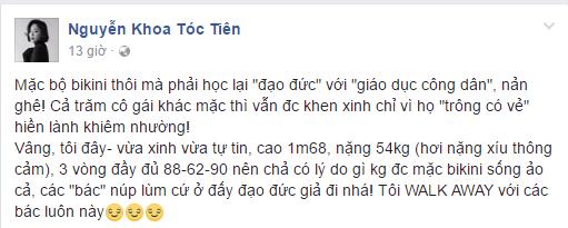 Bi 'giao huan' vi mac do sexy, Toc Tien manh mieng dap tra hinh anh 5