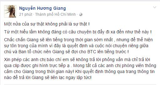 Bi chi trich hon hao voi nghe si Trung Dan, Huong Giang Idol len tieng hinh anh 1