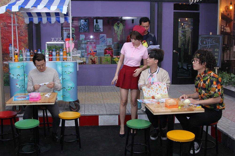 Khong con dang yeu, Hari Won bong tro nen dong danh, kho chieu hinh anh 3