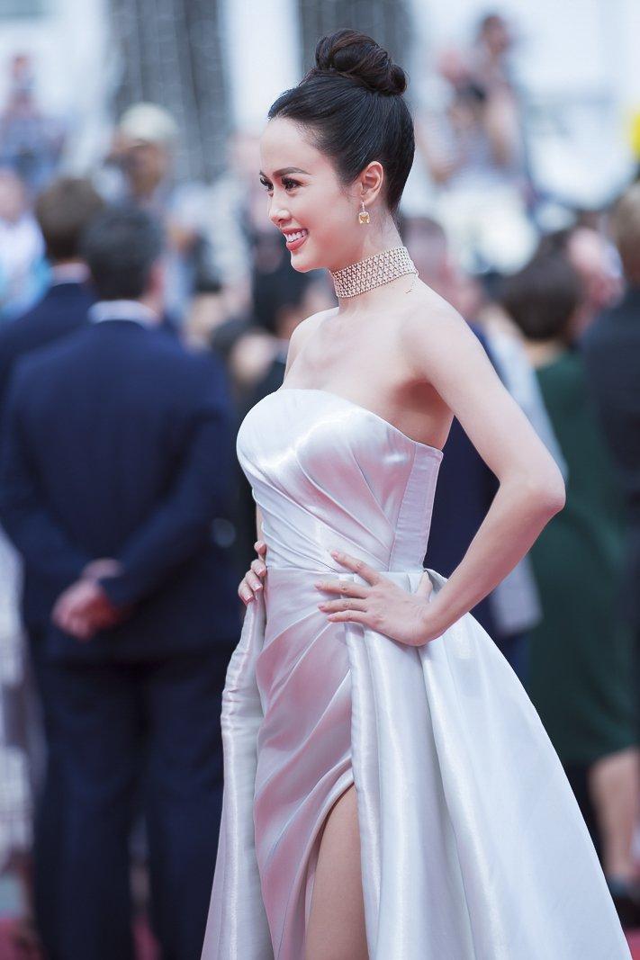 Vu Ngoc Anh la my nhan Chau A duoc len hinh lau nhat tren tham do Cannes hinh anh 3