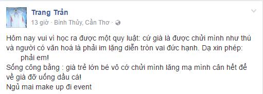 Khan gia phan ung du doi khi Trang Tran - Pha Le hon lao voi nghe si Xuan Huong hinh anh 5