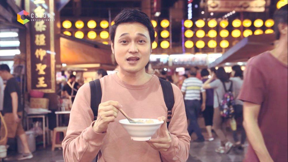 Quang Vinh 'lac troi' giua thien duong am thuc Dai Loan hinh anh 6