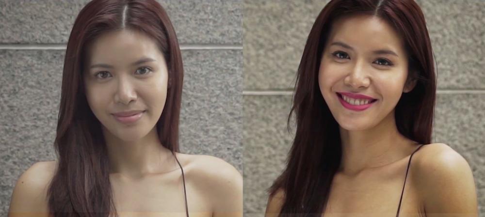 Video: Minh Tu vua trang diem vua 'ban' tieng Anh gay sot hinh anh 5