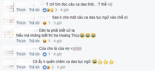 Sau Toc Tien, den luot Hoang Thuy bi nem da vi len an Truong Ho Phuong Nga hinh anh 5