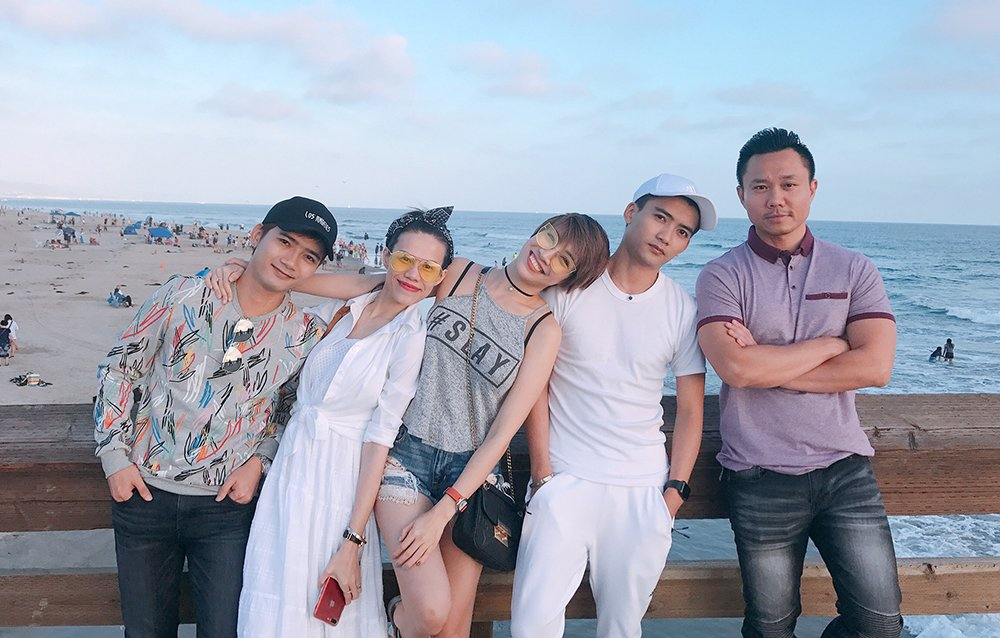 Pha Le hoi ngo em gai bup be Thanh Thao tai My hinh anh 2