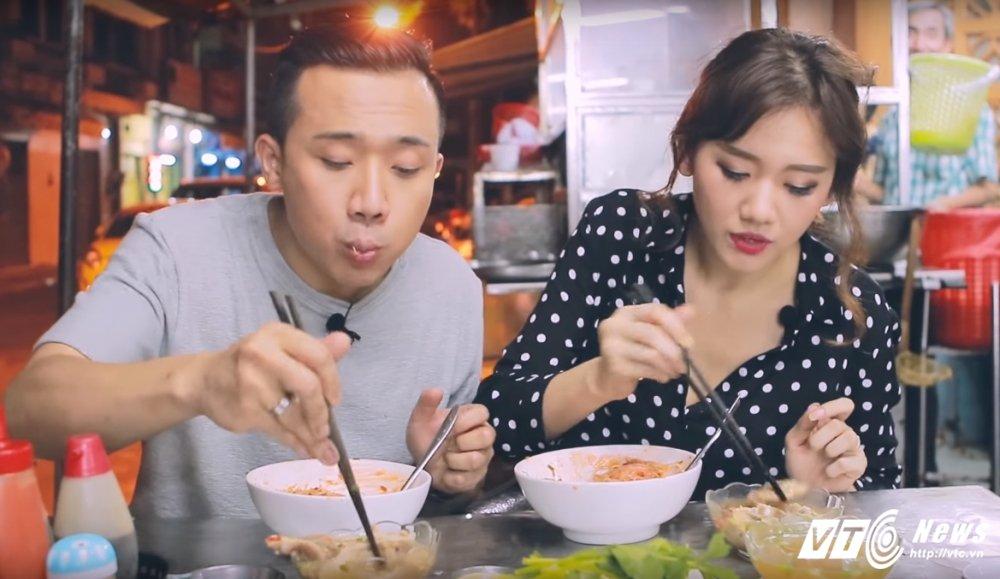 Hari Won - Tran Thanh: Doi vo chong ham an nhat showbiz day roi! hinh anh 13