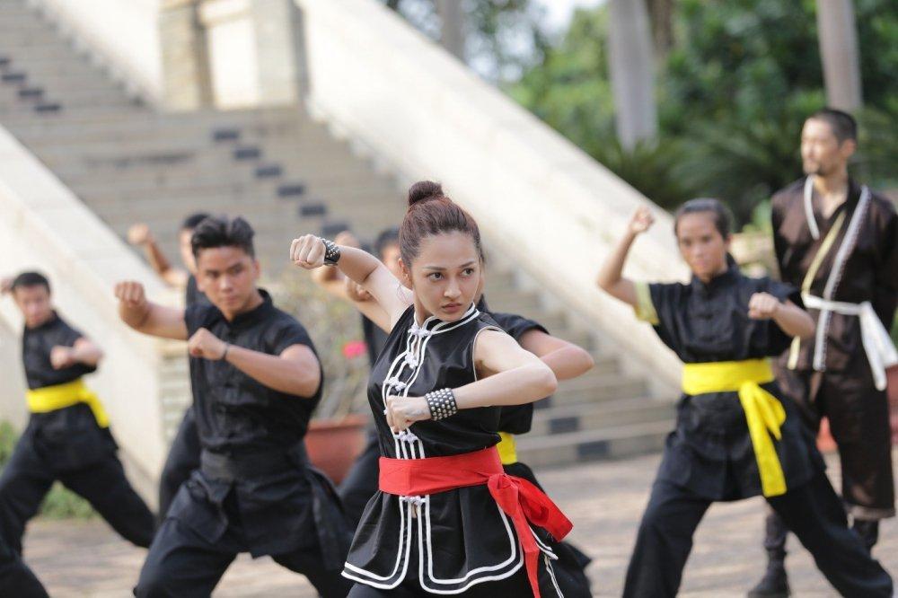 Bao Anh, Soobin Hoang Son hao hung dong phim vo thuat gia tuong hinh anh 5